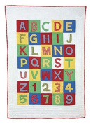 Amity Home ABC 123 Quilt, Baby, Multicolor