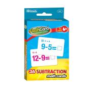 BAZIC Subtraction Flash Cards