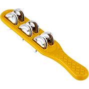 Nino Percussion NINO13Y ABS Plastic Jingle Stick, Yellow