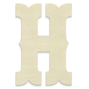 "UNFINISHEDWOODCO Junk Gypsy Letters ""H"""