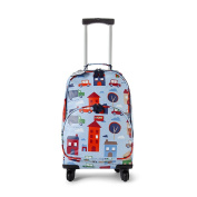 Penny Scallan Big City 4 Wheel Spinner Trolley Suitcase 4 Wheels, Big City