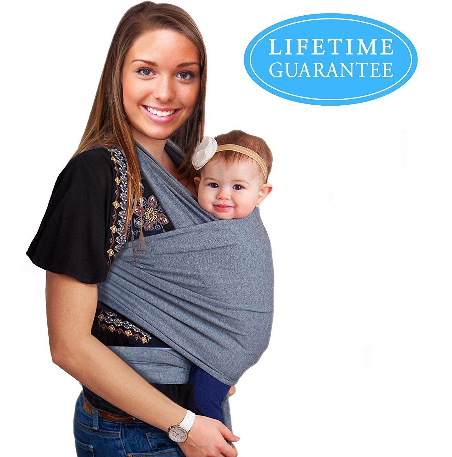 cc47bcd9e26 4-in-1 Baby Wrap Carrier
