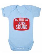 As Seen On Ultra Sound Baby Boy Girl Unisex Short Sleeve Bodysuit