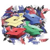 Creative Converting Graduation Caps Confetti Plus