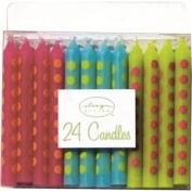 Design Design Brite Dots Birthday Candles, Multicolor