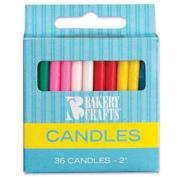 Oasis Supply Plain Birthday Candles, 5.1cm