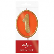 Design Design Ovation 1 Birthday Candle, Multicolor