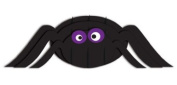 Creative Converting Halloween Dimensional Pop-Out Style Spider Centrepiece