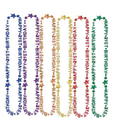 "Beistle 57237-21 12-Pack ""21st"" Birthday Beads-of-Expression Decorative Beads, 90cm"