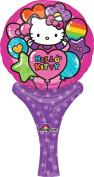 Anagram International Hello Kitty Inflate-A-Fun Balloon, 30cm , Multicolor