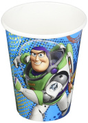 Amscan Toy Story Power Up Birthday Party Paper Cups, 270ml, Blue