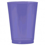Amscan Big Party Pack Plastic Cups, 300ml, New Purple