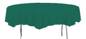 Creative Converting Octy-Round Paper Table Cover, 210cm , Hunter Green