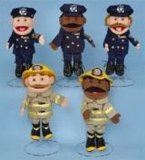 Sunny Toys 36cm Ethnic Dad/Fireman Glove Puppet