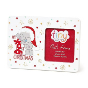 Me To You Tiny Tatty Teddy Baby's First Christmas Photo Frame