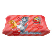 COTTONINO TOM & JERRY BABY WET WIPES 72