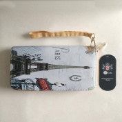 [UK SELLER] Paris Collage Long Purse PR005