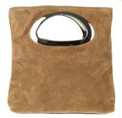 Girly HandBags Genuine Suede Italian Handbag
