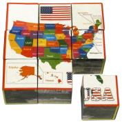 USA Puzzle Cubes