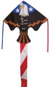 In the Breeze Patriot Eagle Fly-Hi Delta Kite, 120cm