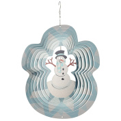 Evergreen Garden Large Snowman Spectrum Spinner