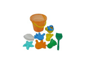 Wader Quality Toys Primary Bucket Seat Beach Set
