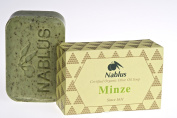 Nablus Soap Natural Olive Oil Mint 100g