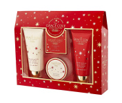 Grace Cole Wild Fig & Cranberry Enchantment 4pc Luxury Xmas Bath Gift Set For Woman