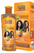 First Lady Herbal ALMOND Hair Oil 300ml - For Revitalising & Repairing Hair - With Sesame & Black Seeds - For All Hair Types