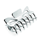 Allsorts® Silver Coloured 9cm Hair Clamps Hair Claw