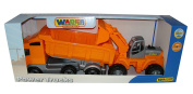 Wader Quality toys PoweTruck Dump Truck Loader Combo Vehicle