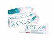 Remineralizing and Whitening Gel R.O.C.S. Medical Minerals Fruit Gel / ROCS - Caries prevention, Improved enamel colour, Tooth sensitivity, Teeth remineralization.