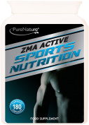 ZMA Active Professional Nutrition 180 Night time Recovery Support capsules Zinc-Calcium- Magnesium-Vitamin B6 -Vegetarian | 100% QUALITY ASSURED MONEY BACK GUARANTEE | SUPER VALUE DEAL + FREE UK DELIVERY