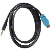 Shine@ Alpine ALP-KCE-236B CDE 9872 9881 CDA 9852 9884 9886 9887 AC212 IPOD Input Adapter CABLE TO MINI PIN