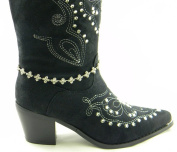 Boot Chain Jewellery Ankle with Flower Design Rhinestones in Designer Fashion