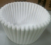 White Round Baking Cup1-7/8X1-5/16 (10M) , 500 count , fluted paper