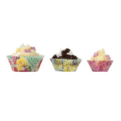 Talking Tables Truly Scrumptious Tea Party Paper Cake Cup Cases (60 Pack), Multicolor