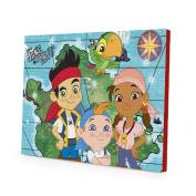 Disney Jake & the Neverland Pirates Canvas LED Wall Art, 11.5 x 15.75