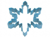 Large Blue Snowflake Shaped Cookie Cutter