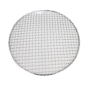Fittoway Multi-Purpose Stainless Steel Round Cross Wire Round Steaming Cooling Barbecue Racks/Grills/Pan Grate/Carbon Baking Net