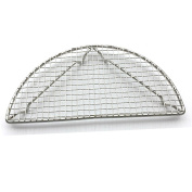 Fittoway Semi Circle Stainless Steel Cross Wire Cooling Barbecue Racks/Carbon Baking Net/Grills/Pan Grate