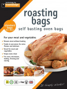 Toastabags Roasting Bags, 25 x 38 cm Standard (Pack of 100), Transparent