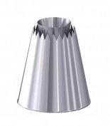 De Buyer Stainless Steel 2118.01 Sultane Cone Straight Socket 5.5 x 5.5 x 6.3 cm