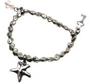Beaded Bracelets For Women Silver Bracelets Stretch Bead Bracelets 114247