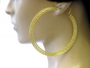 Lapeach Fashions Large Beautiful Fashionable Twisted Pattern Hoop Earing Sexy Look Fashion Earings