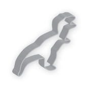 The American Cookie Cutter by Flavortools T-Rex Cookie Cutter, 13cm , Set of 12