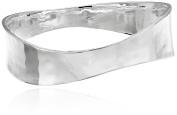 "Robert Lee Morris ""Soho Sculptural"" Silver-Plated Bangle Bracelet"