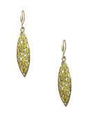 Amrita Singh St. Clara Drop Earrings, Yellow
