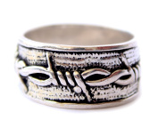 FASHION RINGS FOR WOMEN 925 STERLING SILVER RINGS HANDMADE FASHION UNISEX BAND COMMITMENT BAND BY TIBETAN SILVER