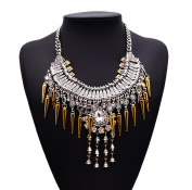 Easting Elegant Lady Vintage India Crystal Fashion Jewellery . Charm Necklace Mothers Day Jewellery
